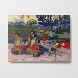 """Paul Gauguin """"Nave Nave Moe - Sacred Spring Sweet Dreams"""" Metal Print"""
