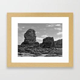 marsden beach Framed Art Print