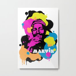 Soul Activism :: Marvin Metal Print