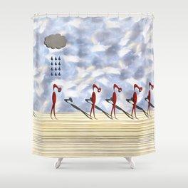 Shame Shower Curtain
