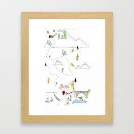 Wanderstrive Framed Art Print