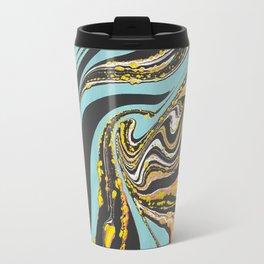 Wavy Marbling Travel Mug