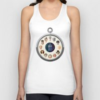 dr who Tank Tops featuring Dr. Who Fob by jasonkimart