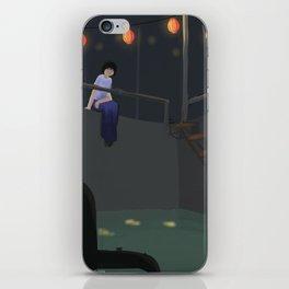 lanturn iPhone Skin