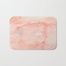 Dramaqueen - Pink Marble Poster Bath Mat