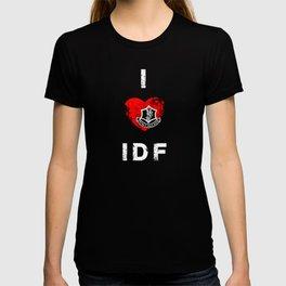 I Love IDF T-shirt