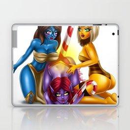 Buzzing Girls Christmas Candy Laptop & iPad Skin