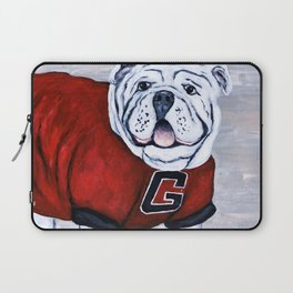 Georgia Bulldog Uga X College Mascot Laptop Sleeve