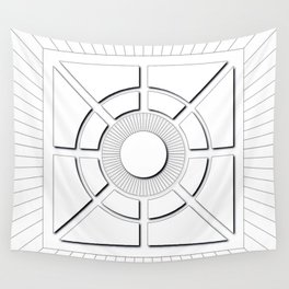 Topographic Survey Wall Tapestry