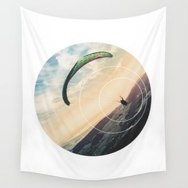 Skydive Gravity - Geometric Photography Wall Tapestry
