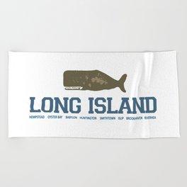 Long Island - New York. Beach Towel