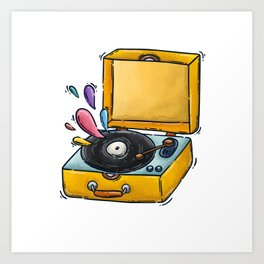 music days Art Print