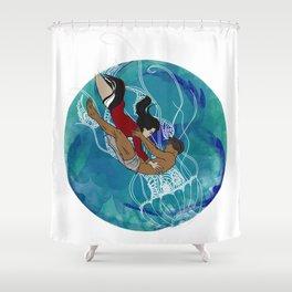Dhon Hiyala aai Alifulhu Shower Curtain