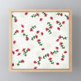 Pohutukawa Framed Mini Art Print