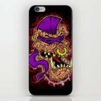 bebop iPhone & iPod Skins featuring Bebop is infected! by DesecrateART (Infected)