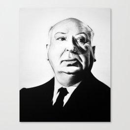 A. Hitchcock Canvas Print