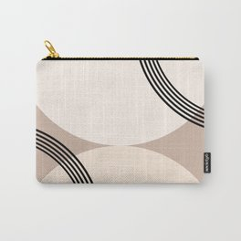 Minimal Abstract Circle Glam #1 #minimal #decor #art #society6 Carry-All Pouch