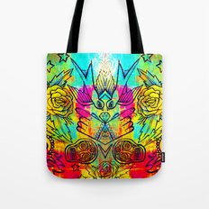 Icons - Tattoo Day of the Dead  Tote Bag