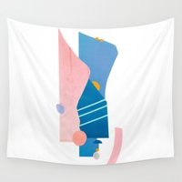 southwest Wall Tapestries featuring southwest by cardboardcities