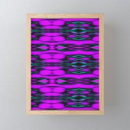 Tie Die Purple Framed Mini Art Print