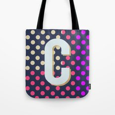 C is for Colorful Tote Bag