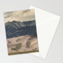 Great Sand Dunes National Park - Rocky Mountains Colorado Stationery Cards