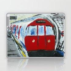London Underground Acrylic On Canvas Board Fine Art Laptop & iPad Skin