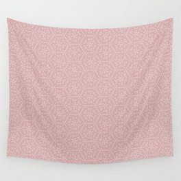 Going Round and Round - Peach Wall Tapestry