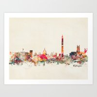 washington dc Art Prints featuring washington dc  by bri.buckley