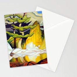 Red Rock Pool by Amanda Martinson Stationery Cards