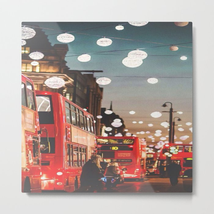 Living in the City Metal Print