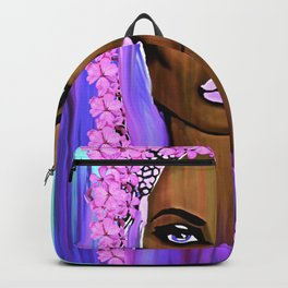 Bride of the Morning Oil Painting Backpack