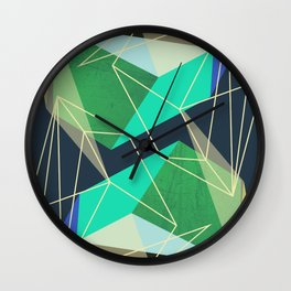 ColorBlock VI Wall Clock
