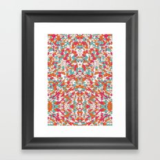 Chaotic Triangle Balance Framed Art Print