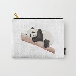 Watercolor Panda Carry-All Pouch