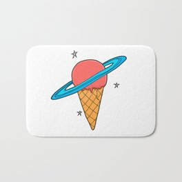 ice-cream star Bath Mat
