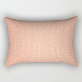 Art Deco, Simple Shapes Pattern 1 [ROSE GOLD] Rectangular Pillow