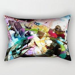 At your service (surreal/ music/ hip hop) Rectangular Pillow