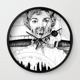 Psycho Melt Wall Clock