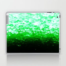 Emerald Green Ombre Crystals Laptop & iPad Skin