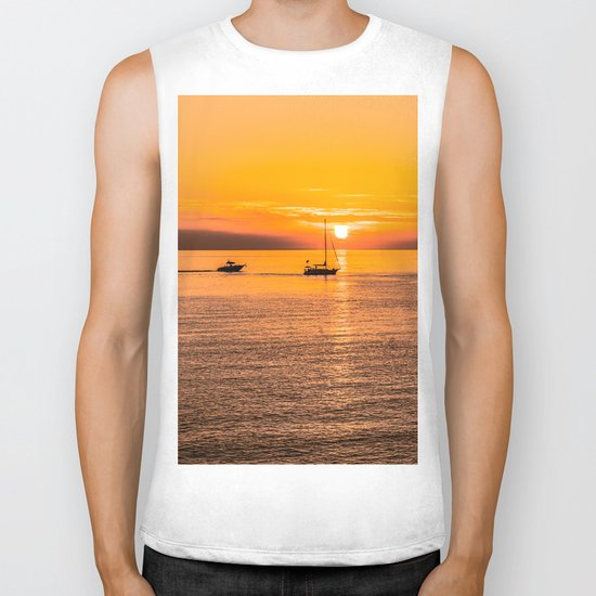 Finish of the day Biker Tank