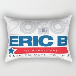 Eric B for President Rectangular Pillow