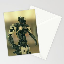CyberCop - The Future of Law Enforcement - Robot Police - Sci-Fi Artwork Stationery Cards