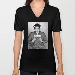 Rosa Parks Mugshot Unisex V-Neck