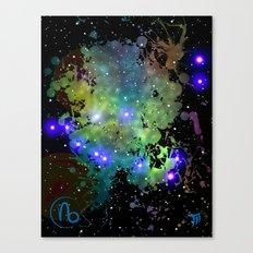 The Zodiac Sign -- Capricorn Canvas Print