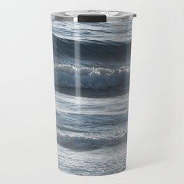 Ocean Ripples and Waves Travel Mug