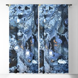 Lunar Surface Blackout Curtain