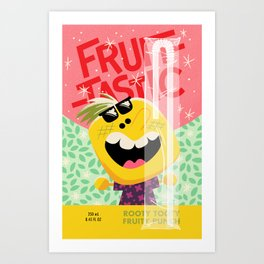 Rooty Tooty Fruity Punch Art Print