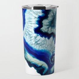 Inkdrop Agate slice Travel Mug