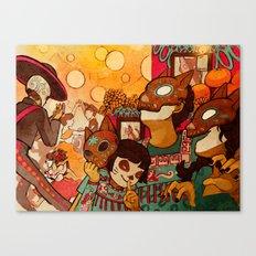 Naguals Canvas Print